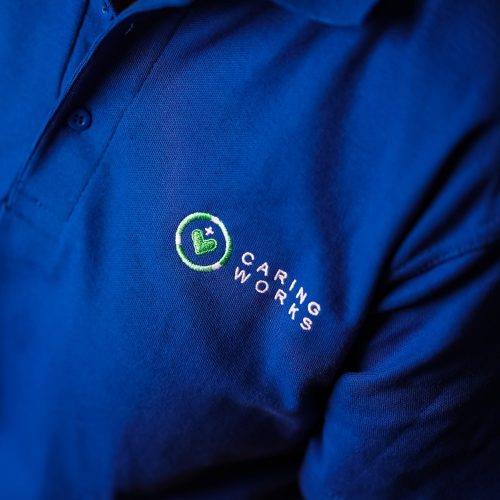 caring works uniform